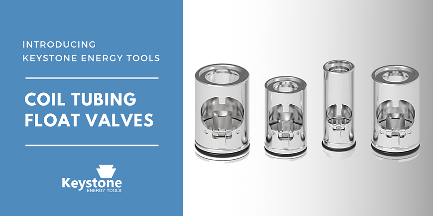 Coil tubing float valves - Keystone energy