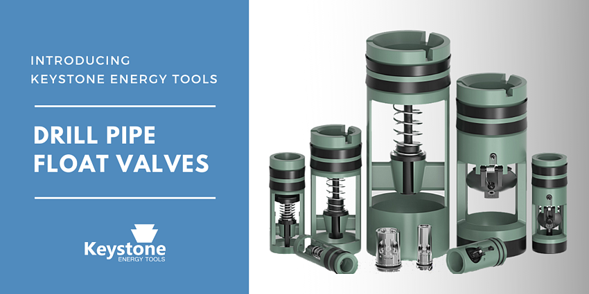 Introducing Keystone's Energy's Drill Pipe Float Valves