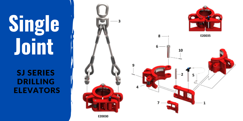 Single Joint SJ Series Drilling Elevators | Keystone Energy